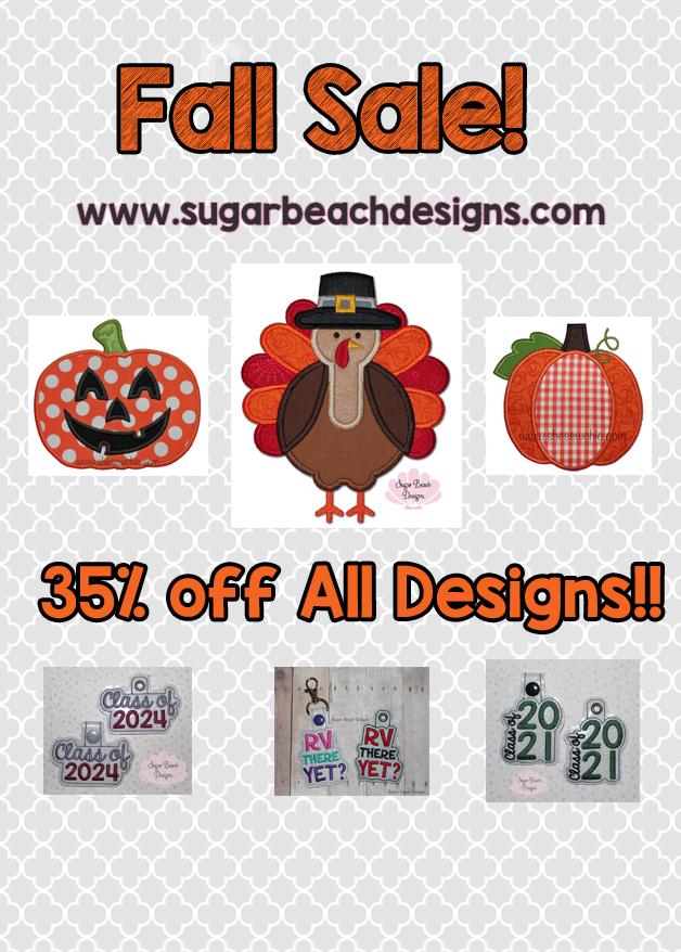 Fall Sale 35% off!