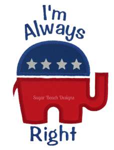 Always Right-Always Right Republican Election Politics President