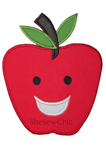 Apple-Apple Food School Student Teacher