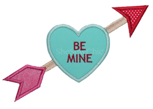 BeMine-Valentines Day, heart, arrow, love