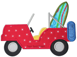 Beach Jeep-Beach Jeep Car Transportation Sea Summer Ocean Surfboard Surf