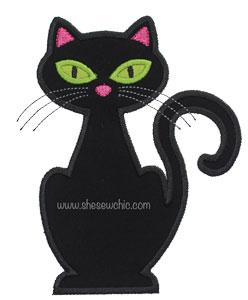 Cat-Halloween Cat SheSewChic Animal