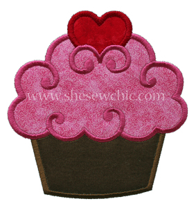 Heart Cupcake-Cupcake food heart birthday valentines love