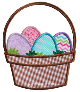 Easter Basket-Easter Basket Bunny Eggs Holiday Spring
