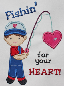 Fishing for Your Heart-Fishing Valentines SheSewChic Sugar Beach Designs Heart Boy