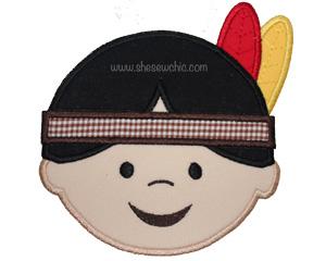 Indian Boy-Indian Thanksgiving Fall Boy
