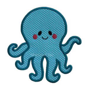 Octopus1-Octopus, Fish, Sea, Ocean, SheSewChic