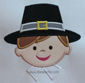 PilgrimBoy-Pilgrim, boy, Thanksgiving, Fall, Turkey