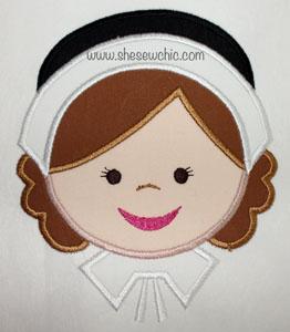 PilgrimGirl-Pilgrim, Girl, Thanksgiving, Fall, Holiday