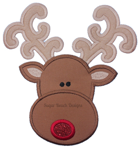 Reindeer1-Reindeer Rudolph Christmas XMas