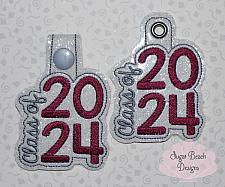 ITH Class of 2024 Key Fob side-ITH, Class, Senior, School, Fob, 2024