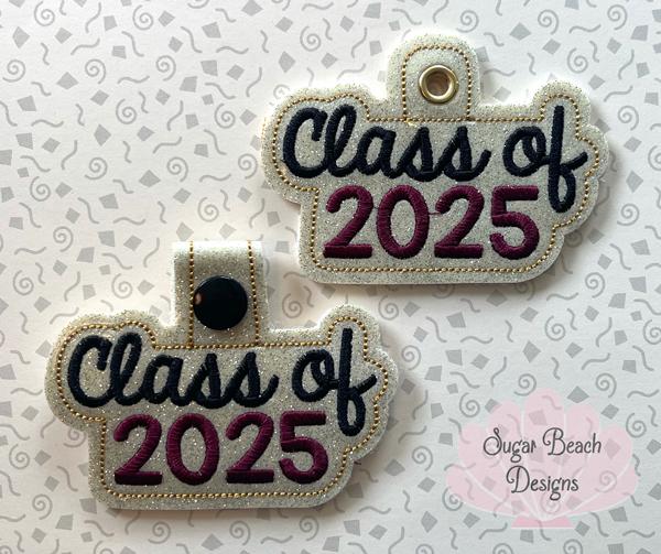 ITH Class of 2025 Key Fob-ITH, Class, Senior, 2025, Fob, Snap
