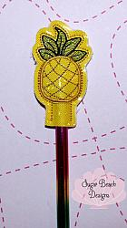 ITH Pineapple Pencil Topper-ITH, Pineapple, Fruit, Pencil, Topper