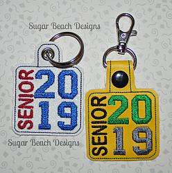 ITH Senior 2019 Side Key Fob