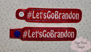 ITH Let's Go Brandon Key Fob-FJB, LGB, Brandon, Trump, Conservative, Republican, Election