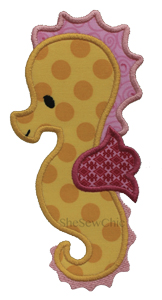 Seahorse1-Seahorse, SheSewChic, Beach, Sea, Animal, Fish
