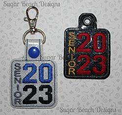 ITH Senior 2023 Vertical Key Fob