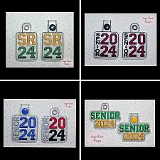 ITH Senior 2024 Key Fob Set-ITH, Class, Senior, 2024, Fob