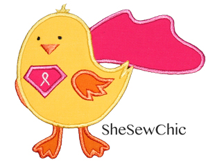 Super Tough Chick-Charity Chick Breast Cancer